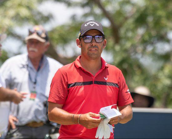 Pablo Larrazábal en la ronda final en Leopard Creek. © Golffile | Shannon Naidoo