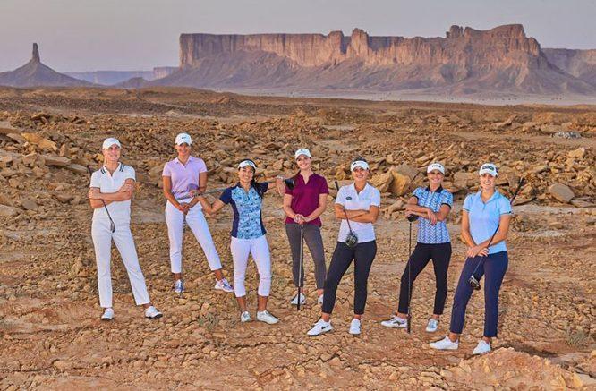 Jugadoras del LET en Arabia Saudí © LET
