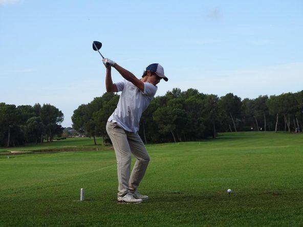 Álvaro Mueller-Baumgart. © Federación Balear de Golf