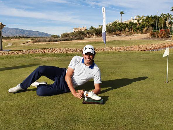 Alfredo García Heredia, ganador del XXXII Campeonato de la PGA de España.