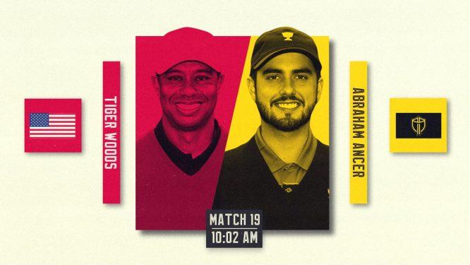 Horario del primer partido © PGA Tour