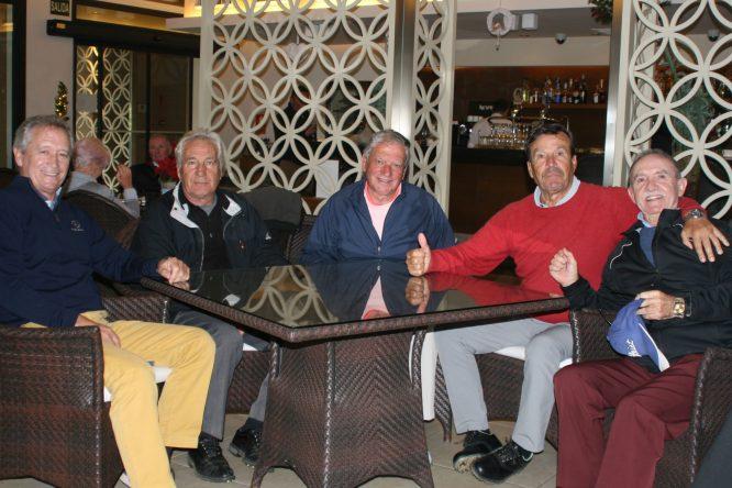 Piñero, Cañizares, García, Rodríguez y Garrido © RFEG