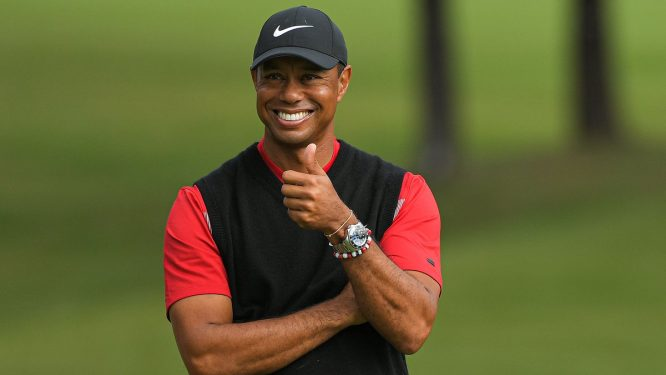 Tiger Woods © TGR Live