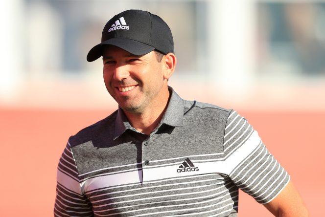 Sergio García durante la segunda jornada en Abu Dhabi. © Golffile | Oisin Keniry