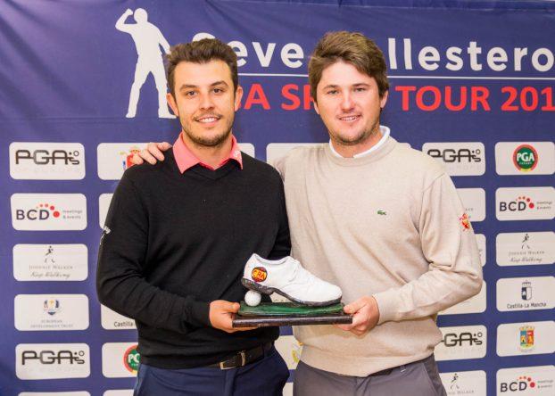 Alejandro Esmatges y Juan Sarasti, ganadores en Oliva Nova. © Ramon Mut / Oliva Nova