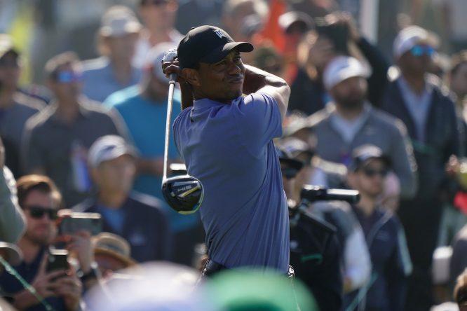 Tiger Woods, en el Farmers © Golffile   Phil Inglis