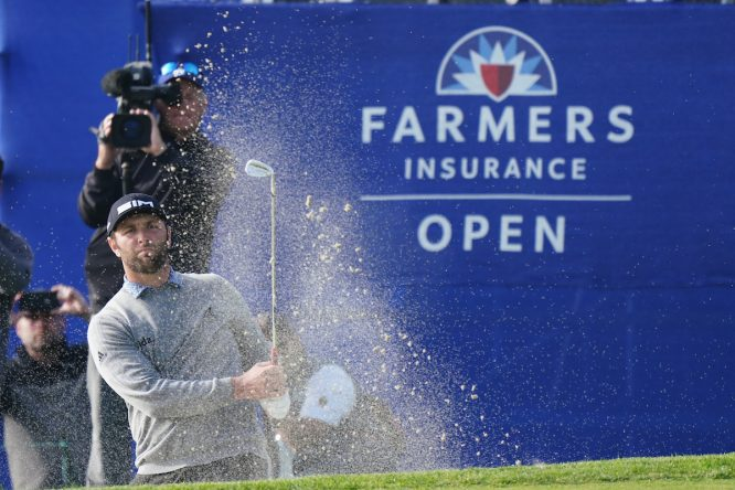 Jon Rahm. en el Farmers © Golffile | Phil Inglis