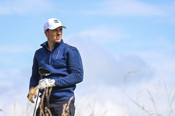 Jordan Spieth, en el The Open Championship © Cliff Hawkins/Getty Images