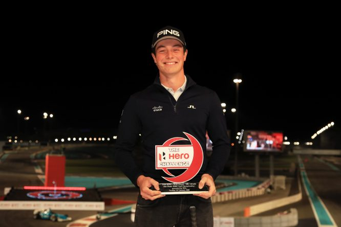 Viktor Hovland, ganador del Hero Challenge © European Tour