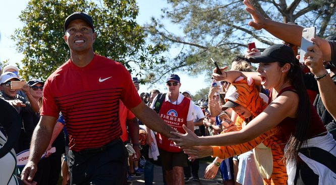 Tiger Woods, en el Farmers Insurance Open © PGA Tour