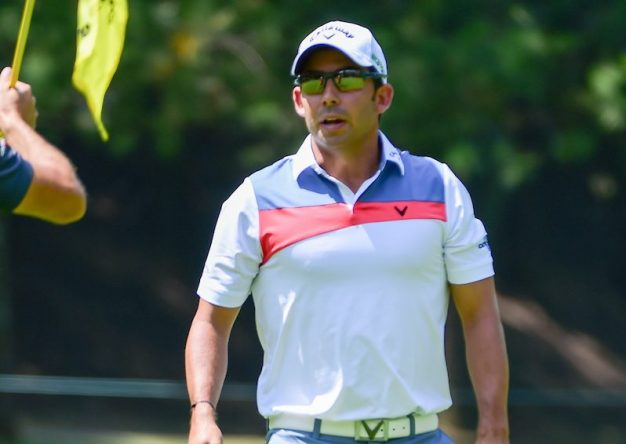Pablo Larrazábal en el WGC Mexico Championship en 2017. © Golffile   Ken Murray