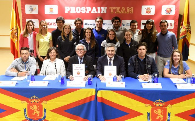 Presentación del Programa Pro Spain Team 2020. © Luis Corralo
