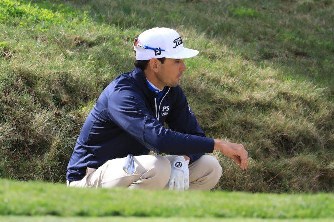 Rafa Cabrera Bello, en Pebble Beach el pasado año © Golffile | Phil Inglis