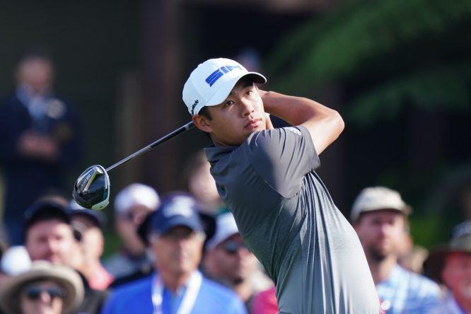 Collin Morikawa. © Golffile | Phil Inglis
