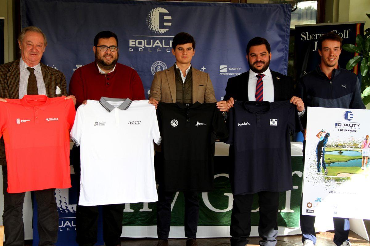 Presentación del Circuito Solidario Equality Golf Cup.
