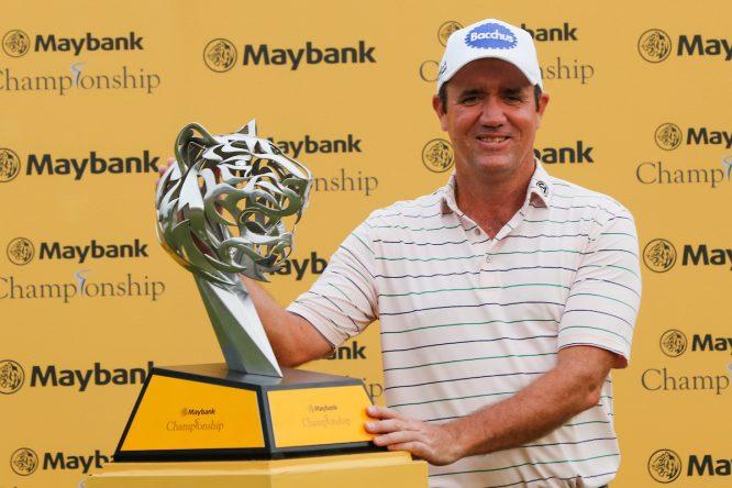 Scott Hend , ganador del Maybank Championship 2019. © Golffile   Ahmad Yusni