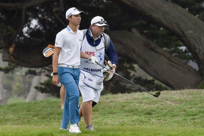 Min Woo Lee. © Golf Australia
