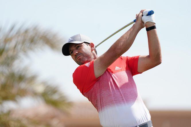 Sergio García esta semana en el Saudi International. © Golffile | Thos Caffrey