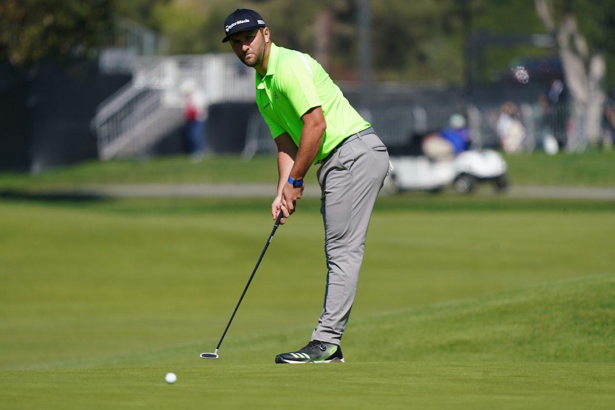 Jon Rahm, con ropa de la nueva colección © Golffile | Phil Inglis