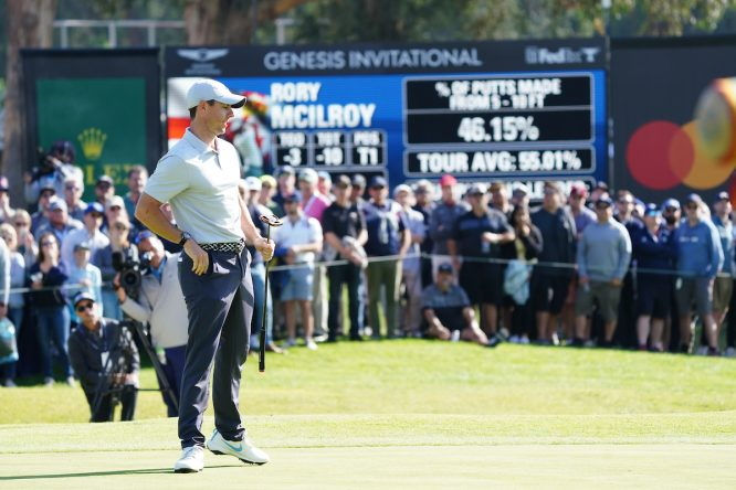 Rory McIlroy, en el Genesis © Golffile | Phil Inglis
