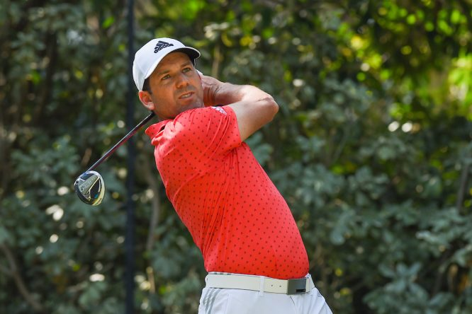 Sergio García, en el WGC México © Golffile | Ken Murray