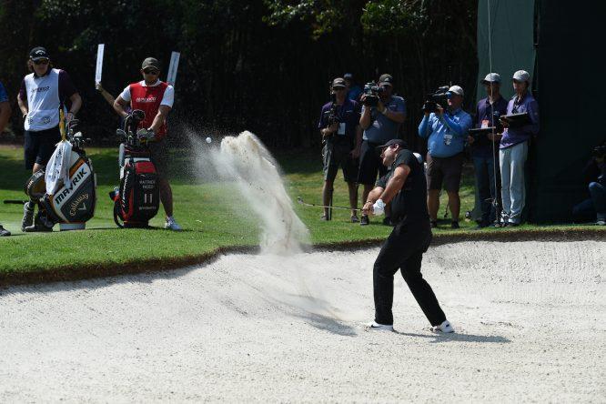 Patrick Reed en la jornada final del WGC México Championship 2020. © Golffile | Ken Murray