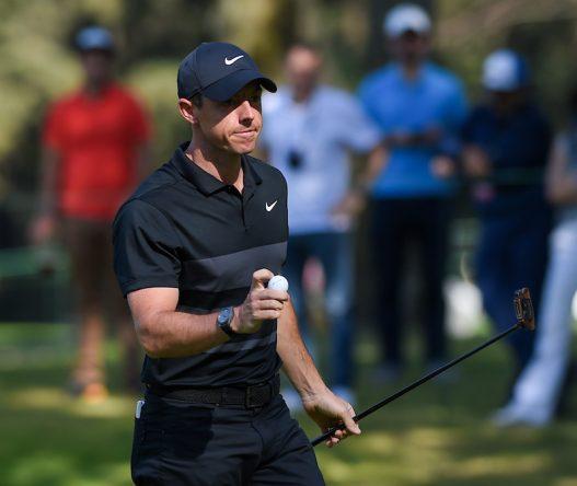 Rory McIlroy en la primera jornada en Club de Golf Chapultepec. © Golffile | Ken Murray