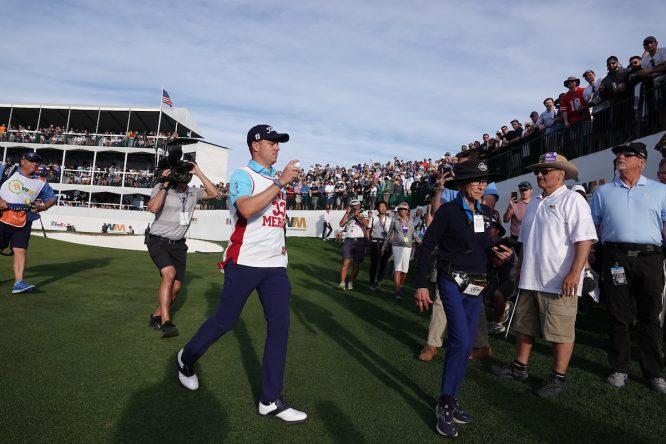Justin Thomas, en el Phoenix Open © Golffile | Phil Inglis