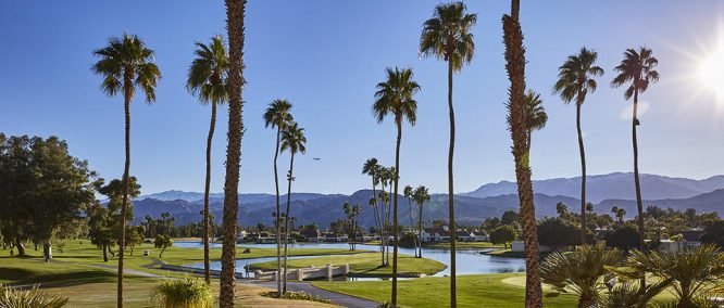Mission Hills Country Club in Rancho Mirage, California.