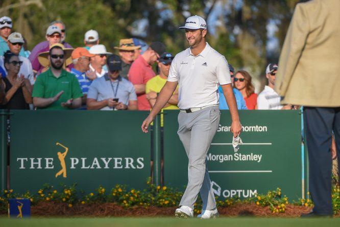 Jon Rahm en el THE PLAYERS Championship 2018. © Golffile | Ken Murray