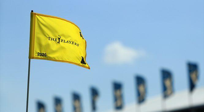 Bandera en el THE PLAYERS © PGA Tour