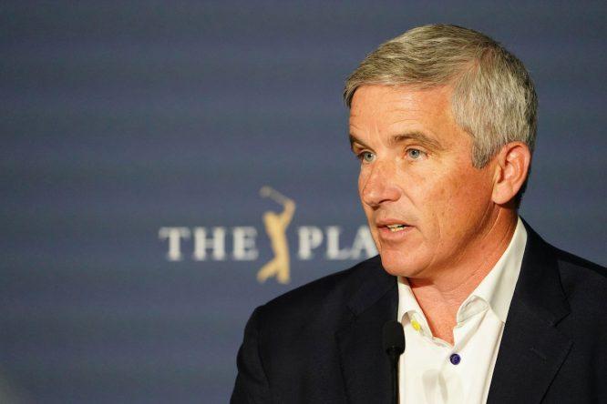 Jay Monahan, comisionado del PGA Tour © Golffile | Fran Caffrey