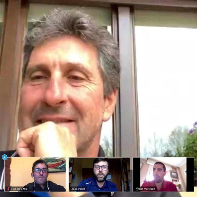 Vídeo charla de José María Olazábal con los asociados de la PGA de España.