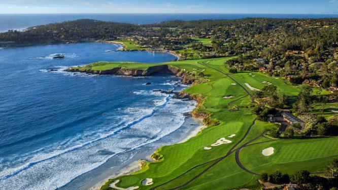 Pebble Beach Golf Links.