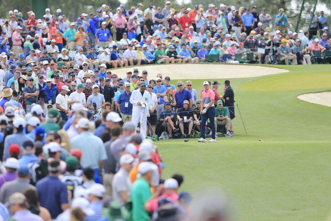 Spieth, en el Masters de 2019 © Golffile | Fran Caffrey