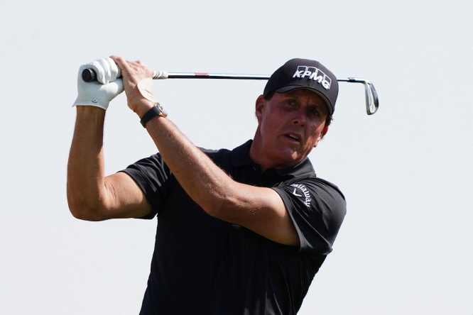 Phil Mickelson. © Golffile   Thos Caffrey