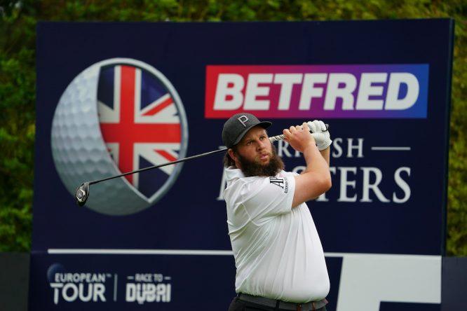 Andrew Johnston, en el British Masters © Golffile / Fran Caffrey