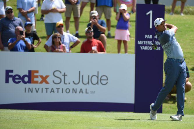 Sergio García en el WGC FedEx St. Jude Invitational 2019. © Golffile | Ken Murray