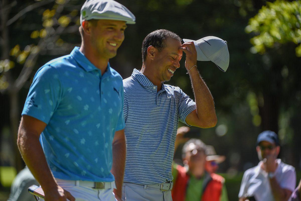 Tiger, junto a DeChambeau en México © Golffile