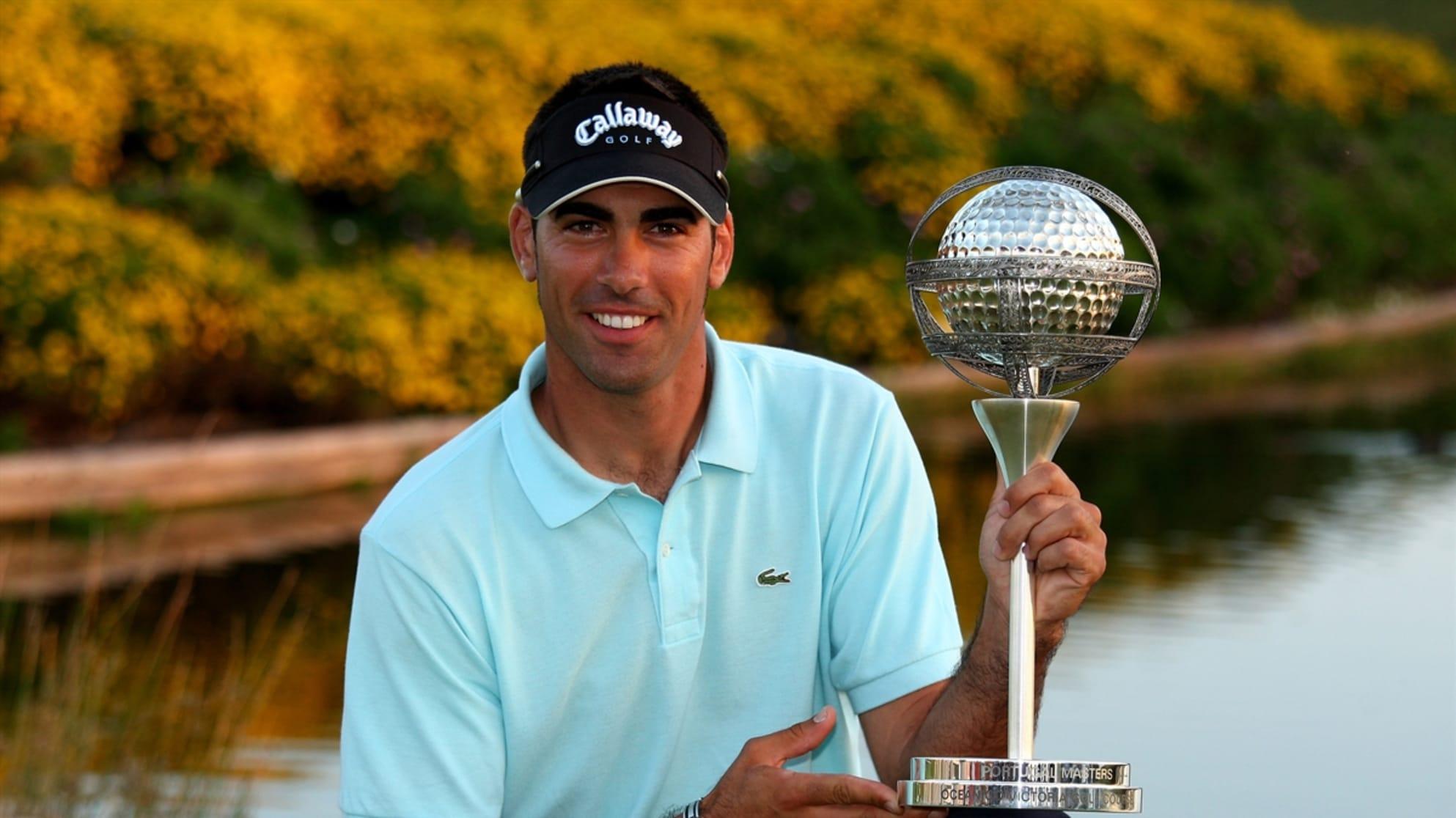Álvaro Quirós, ganador del Portugal Masters © European Tour