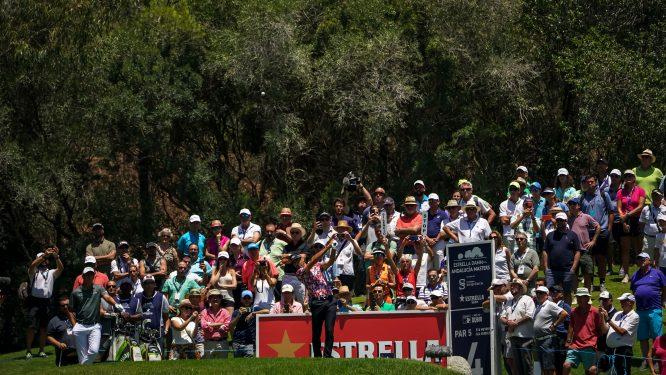 Álvaro Quirós, in the 2019 Estrella Damm N.A. Andalucía Masters. © Real Club Valderrama