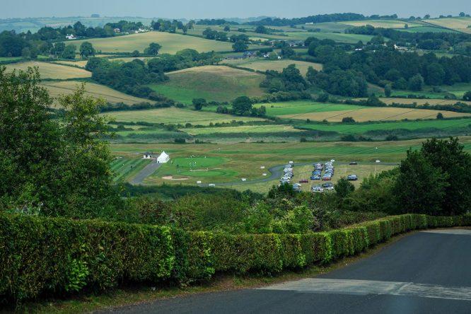 Una vista del The Celtic Manor Resort durante la previa del Celtic Classic 2020. . © Golffile | Thos Caffrey