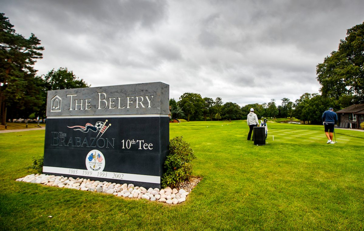 Salida del hoyo de 10 del Brabazon course de The Belfry Golf Club. © Golffile | Oisín Keniry