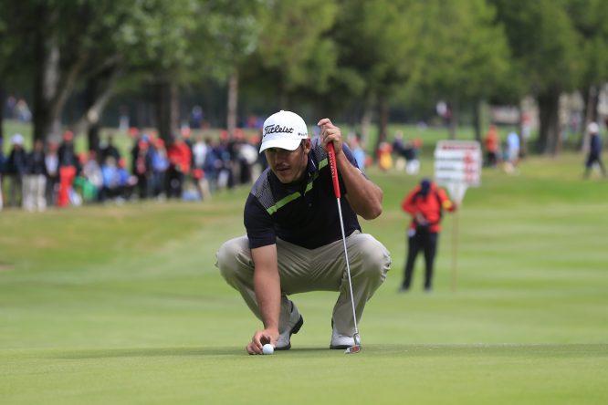 Brooks Koepka en sus tiempos 'europeos' en el año 2013. © Golffile | Eoin Clarke