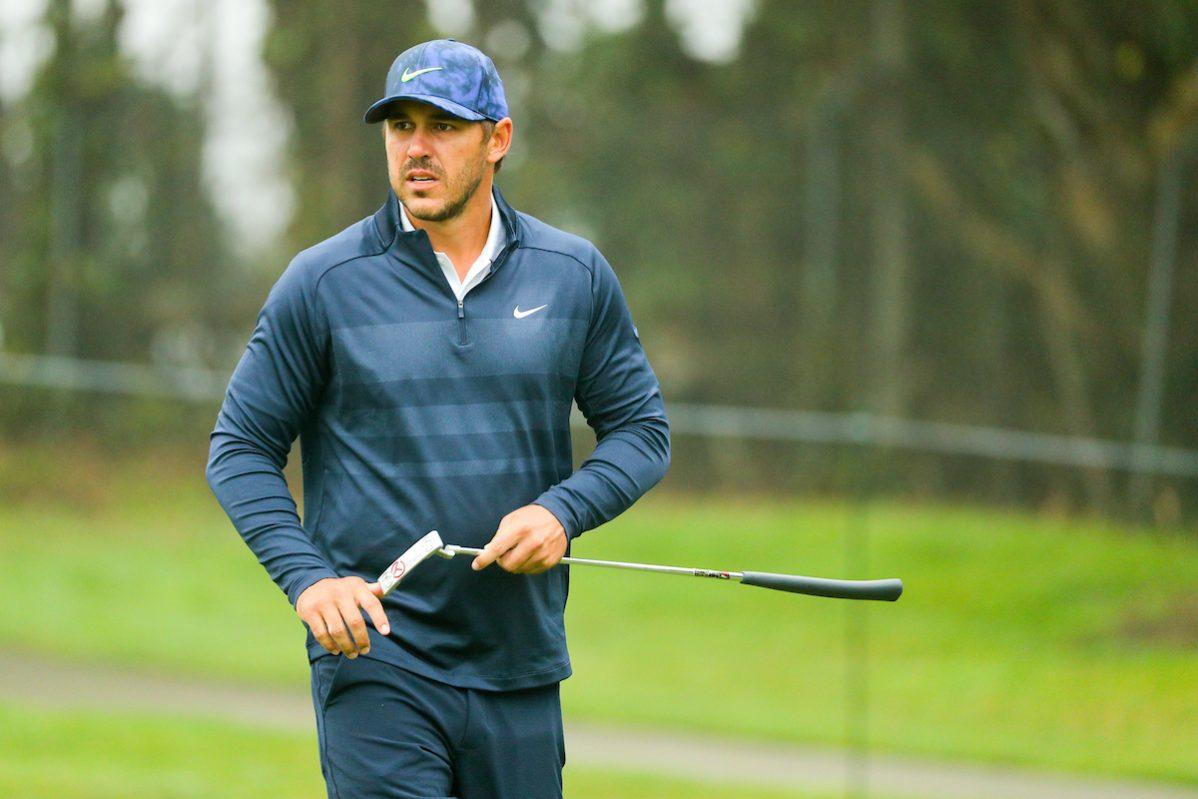 Brooks Koepka durante la jornada previa del PGA Championship 2020. © Golffile | Scott Halleran
