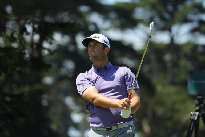 Jon Rahm durante la primera ronda del PGA Championship 2020. © Golffile | Scott Halleran