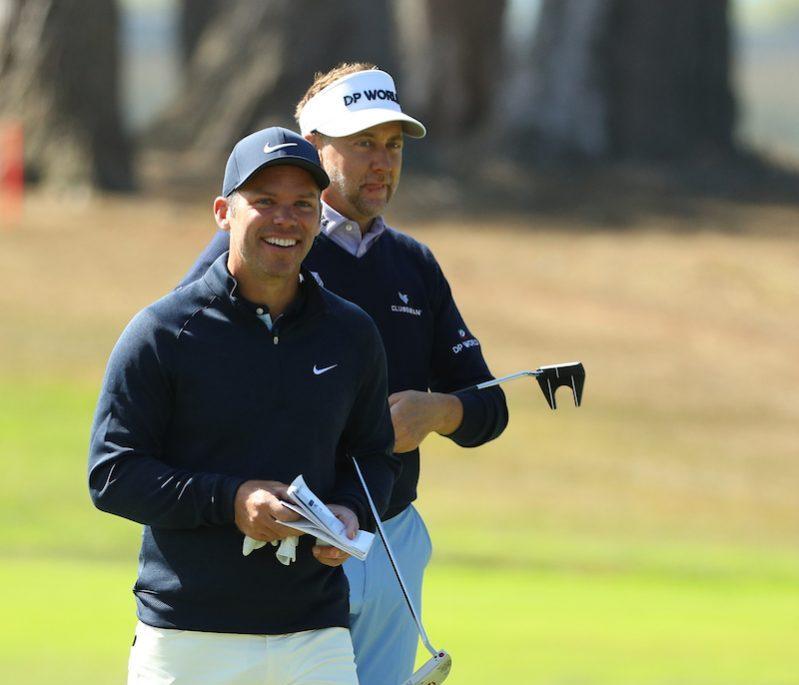 Paul Casey y Ian Poulter durante la segunda ronda en TPC Harding Park. © Golffile | Scott Halleran