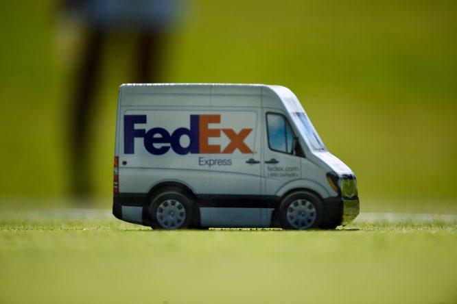 Marca de los tees en el WGC FedEx St. Jude Invitational © Golffile | Ken Murray