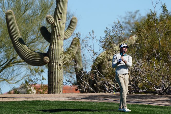 Bubba Watson, en un torneo © Golffile | Phil Inglis