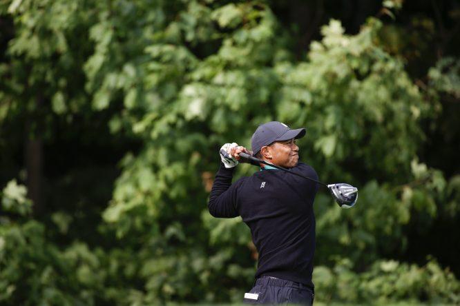 Tiger Woods, en Winged Foot © USGA/Simon Bruty